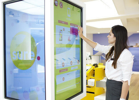 embed signage cloud based digital signage software - How Digital Signage Transforms the in-store experience - Interactive Touch Digital Signage Sure Telecom