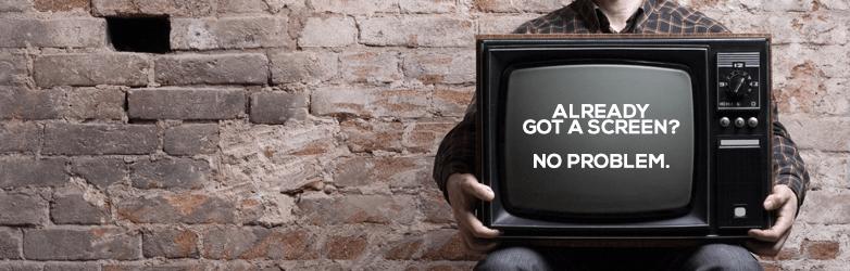embed signage cloud based digital signage software choosing device old tv new