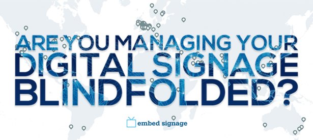 embed signage digital signage network management