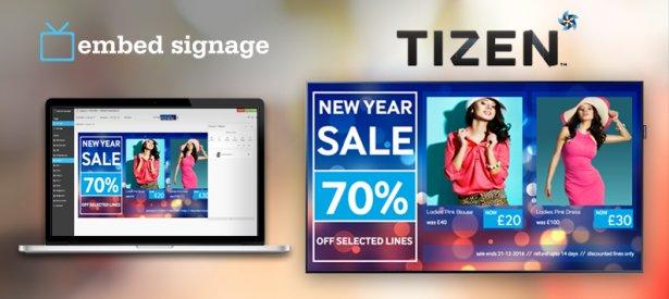 embed signage - digital signage software - samsung smart signage platform (sssp) v4 tizen