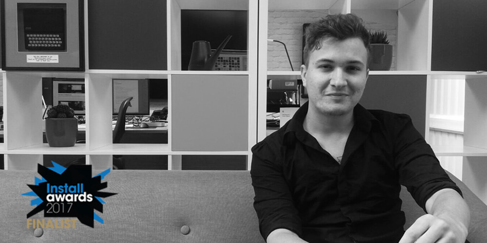 Embed Signage - Digital Signage Software - Install Awards 2017 Rising Star - Daniel Cruickshank