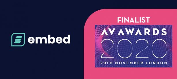 embed signage - digital signage software - AV Awards 2020 Finalists
